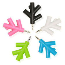 3.5mm Branches Audio Splitter Earphone Headphone Cable Male to 4 Female Adapter