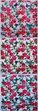 Armando Caruso Design Handkerchief Hanky Poppies And Butterfly