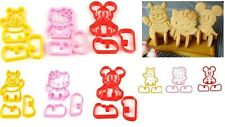 Hello Kitty Winnie the Pooh Mickey Mouse 3D cookie bread toast cutter mold