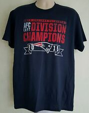 New England Patriots NFL Men's Navy Blue Team Short Sleeve T-Shirts: L