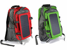 For Phone / iPhone / iPad Solar Panel Backpack Power Emergent Charger Hiking