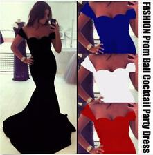 New Womens Sexy Trumpet Prom Ball Cocktail Party Formal Dress Evening Gown L166