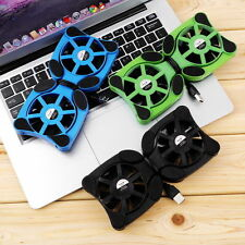 "USB Port Mini Octopus Notebook Fan Cooler Cooling Pad For 7""-15"" Laptop SM"