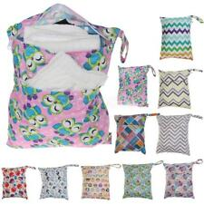 Pocket Wet Dry Bags Waterproof Baby Diaper Changing Bag Portable Mummy Baby Bag
