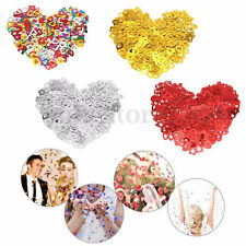 Mixed Hearts Wedding Table Confetti Party Decoration, Purple,Silver,Gold,Red