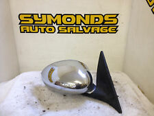 1999 - 2003 MG ZT ZTT ROVER 75 DRIVER OFF SIDE RIGHT CHROME DOOR WING MIRROR OS