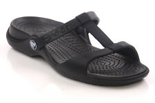 CROCS WOMENS - CLEO III FLAT SANDALS BLACK