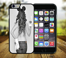 Minnie Mouse Girl Middle Finger Parody iPhone 4/4s 5/5s SE 5c 6/6s 6+ Cover Case