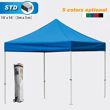 Eurmax Instant 3mx3m Heavy Duty Pop Up Tent Gazebo Water-proof Marquee W/N walls