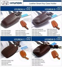 Promotion Natural leather Key Case Holder For HYUNDAI 09-10 NF Sonata Transform