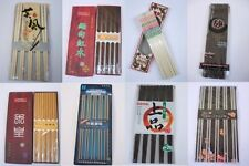 One pairs korean Chinese Japanese Chopsticks kitchen lunch wood stainless bamboo