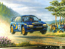 Colin McCrae Limited Edition print by Tony Smith