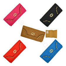 Women Lady Soft Synthetic leather Clutch Wallet Long Card Purse #6