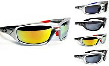 XLOOP SPORTS SUNGLASSES MEN WOMEN GOLF CYCLING FISHING WRAP FRAME 2132