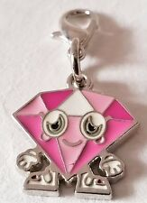 Moshi Monsters,Series 2,Charmling,Metal,Alloy,New, ROXY, ULTRA RARE,Clasp,Charm