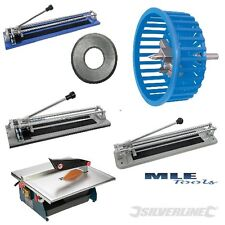 Silverline Floor wall hand & Power Tile cutter TCT Hole blade circle wheel tool