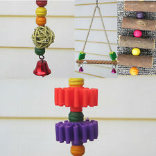 Supplies Elevated Parrot Bars Chew Minerals Teeth  Swing Toys Ladder Birds