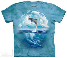 Dolphin Sky T-Shirt from The Mountain - Child S - XL