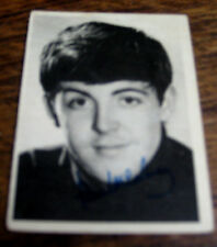 THE BEATLES NEMS ENTERPRISES A & B C TRADING CARD ~ PAUL McCARTNEY ~ No.11