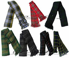 Scottish Kilt Fly Plaids In VARIOUS Tartan ,Piper FlyPlaid 3 /1/2 Yards Uniforms