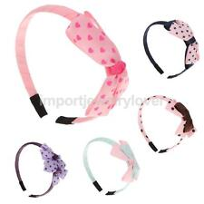 Cute Baby Girls Bowknot Headbands Hair Bow Headwear Accessory Gifts-5 Colors
