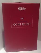 Brand New 2016 Royal Mint UK 50p Coin Collection Album - Fifty Pence Coin Hunt