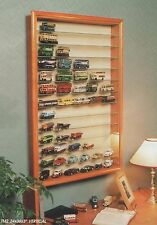 """Wall mounted Toy display cabinet TM2V 3"""" Hand Made in the UK"""