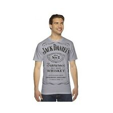 JACK DANIELS WHISKEY AUTHENTIC GREY LABEL TEE SHIRT LYNCHBURG TENNESSEE