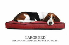 Venus Rectangle Large Dog Pet Bed - Replacement Waterproof Durable proof cover
