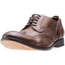 H by Hudson Rowe Mens Brogues Tan New Shoes