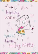 Home & Dry 100% Cotton Tea Towel - Mums Like Drinking Wine