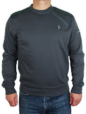 NEW Duck & Cover Mens Size M L XL Charcoal Pullover Sweatshirt