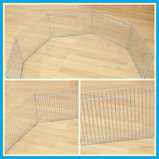 Indoor Guinea Pig Rabbit Metal Cage Run Foldable Enclosure Outdoor Pet Playpen