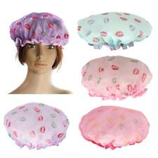 Waterproof Large Bath Shower Cap Bathing Hat Caps for Long Hair Woman Girl Lady