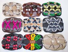 Double Magic Hair Combs, African Style Butterfly Clips, MultiColors, S31