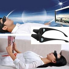 Periscope Watching TV Spectacles Prism Reading Glasses Lying Down Eyeglass Frame
