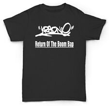 KRS ONE T SHIRT BOOM BAP HIP HOP DJ BEATS GOLDEN ERA