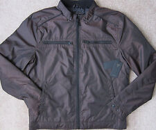 GUESS (Chambord / Bordo) PREMIUM VICTOR Racer Quilted Jacket Men's NWT $148