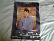 ELVIS PRESLEY OFFICIAL CALENDAR 1983.