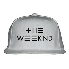 The Weeknd Embroidered Snapback Hat By Customon