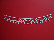 TATTERED LACE CHRISTMAS WASHING LIGHTS DIE CUTS **21 COLOURS**