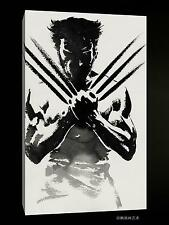 Original Oil Painting HD Print Wall Decor Art on Canvas,wolverine (Unframed)1PCS