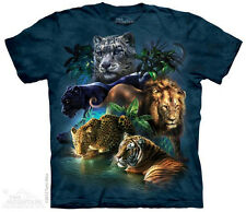 Jungle Cats T-Shirt from The Mountain - Adult S-5X & Child S-XL