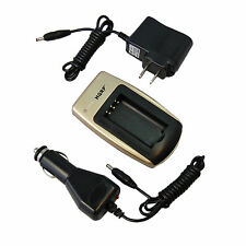 Car + Wall Charger for KODAK Easy Share CX DX Series Digital Camera Battery CRV3