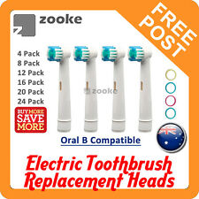 FLEXISOFT Oral B Compatible Electric Toothbrush Replacement Brush Heads