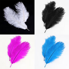 20pcs Ostrich Feathers Wedding Party Decorations Free Shipping 25-30cm