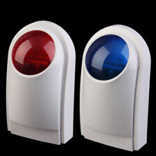 External Outdoor Waterproof Alarm Siren Strobe Security Alarm System yk