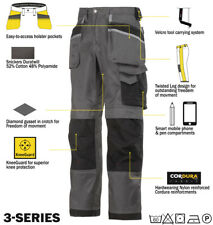 Snickers Trousers 3212 3-Series Work Trousers Snickers Direct Grey-Black