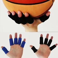 10X Elastic stretch basketball volleyball Finger Guard Support Sleeves Protector