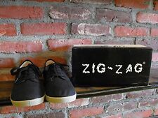 Zig-Zag (Winos) #7201 Canvas Black/Gum Low Multiple Mens Sizes ONLY $25!!!